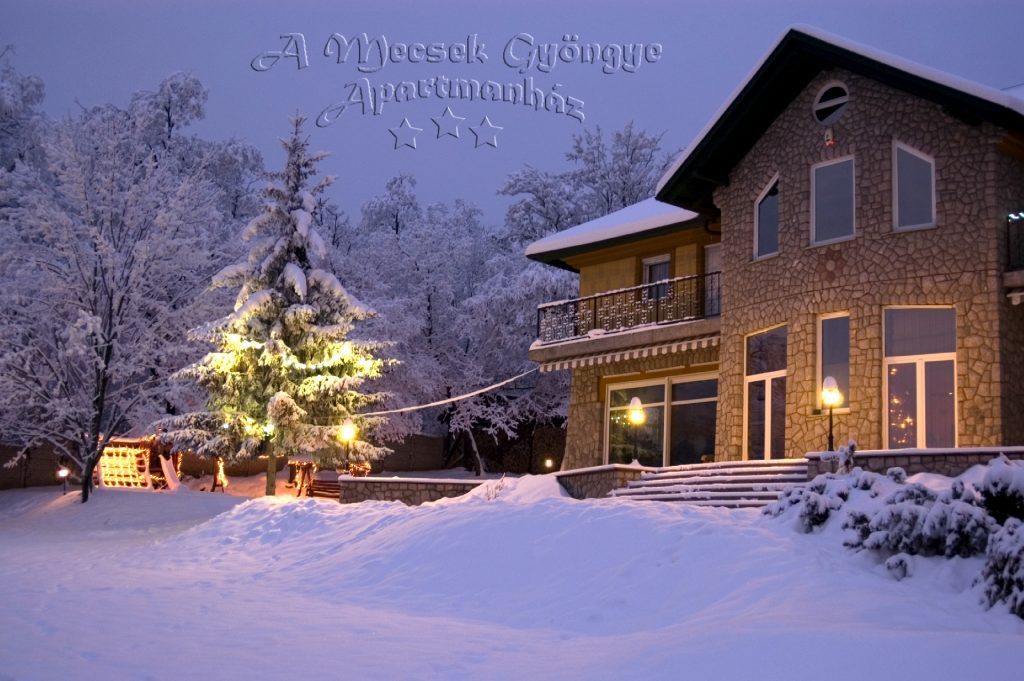 4 A Mecsek Gyöngye Apartmanház tél 11